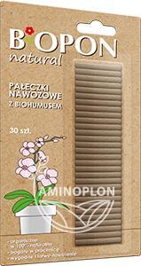 Biopon Natural 30szt – pałeczki nawozowe z biohumusem