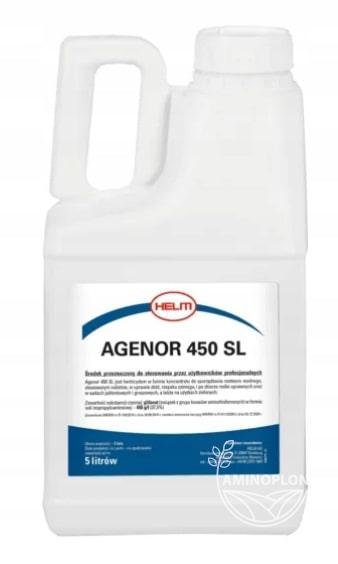 Agenor – efektywny herbicyd na bazie glifosatu (450 SL)